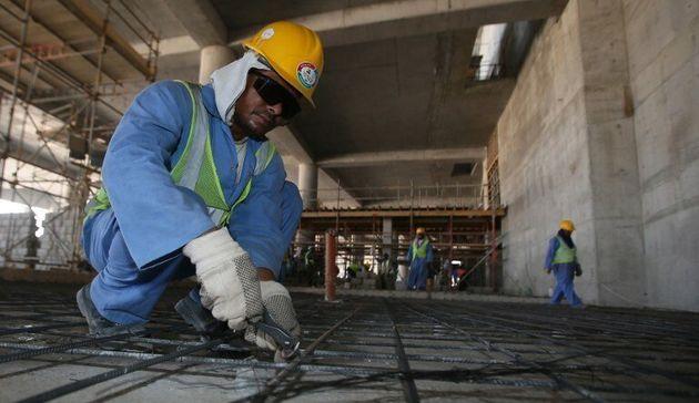 카타르 월드컵 건설현장의 참혹한