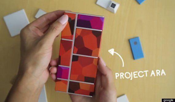 구글의 조립식 스마트폰 '아라'가 내년에 시판된다 (사진과 동영상