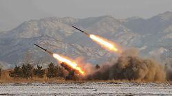 북한이 어제 쏘아올린 발사체