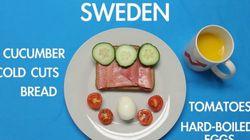 전 세계 사람들은 아침으로 무엇을 먹을까