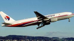추락한 보잉 777