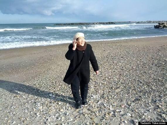 동일본 대지진 이후 - 일본 야쿠르트 아줌마의