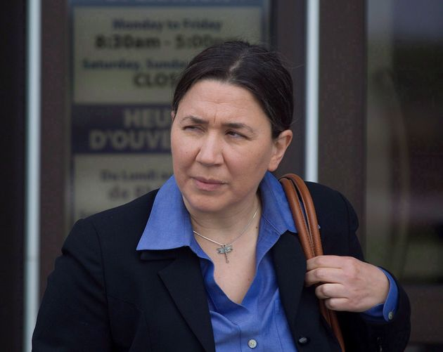 RCMP Const. Shelly Mitchell, one of the four RCMP officer suing the Attorney General for negligence,...