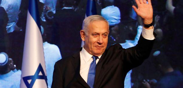 BenjaminNetanyahu le 18 septembre au QG de Likoud pourrait faire les frais d'un éventuel...