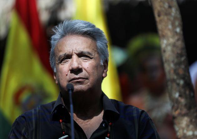 エクアドルのレニン・モレノ大統領