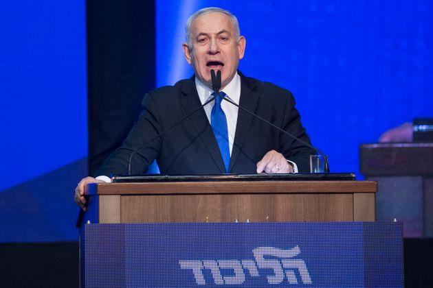 Israeli Prime Minister Benjamin Netanyahu in a file