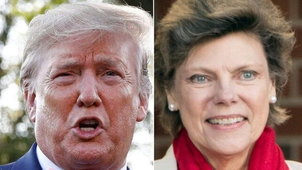 Donald Trump And Cokie Roberts