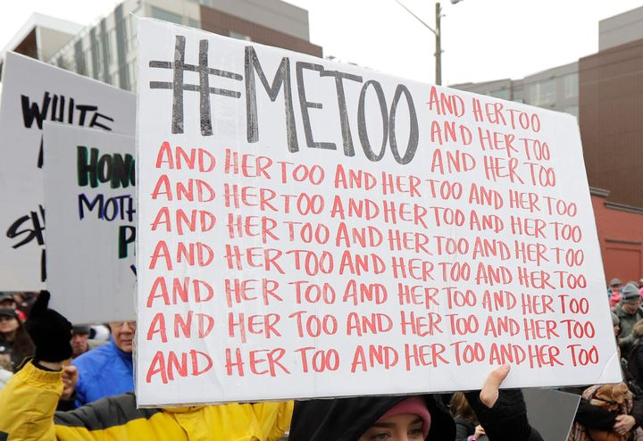 The popular Twitter hashtag #MeToo is used by people speaking out against sexual harassment and sexual assault.