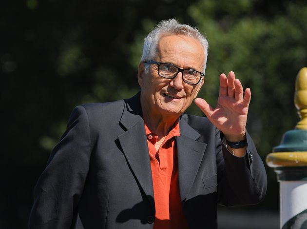 VENICE, ITALY - SEPTEMBER 03: Marco Bellocchio is seen arriving at the 76th Venice Film Festival on September...
