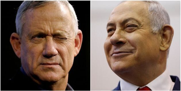 Élections en Israël: Netanyahu et Gantz à égalité selon les résultats presque
