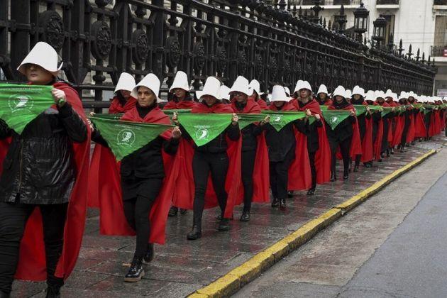 Manifestation à Buenos Aires pour le droit à