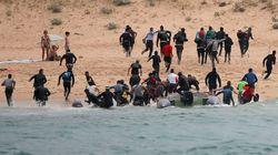 Alrededor de 200 inmigrantes llegan en cuatro pateras a la costa de