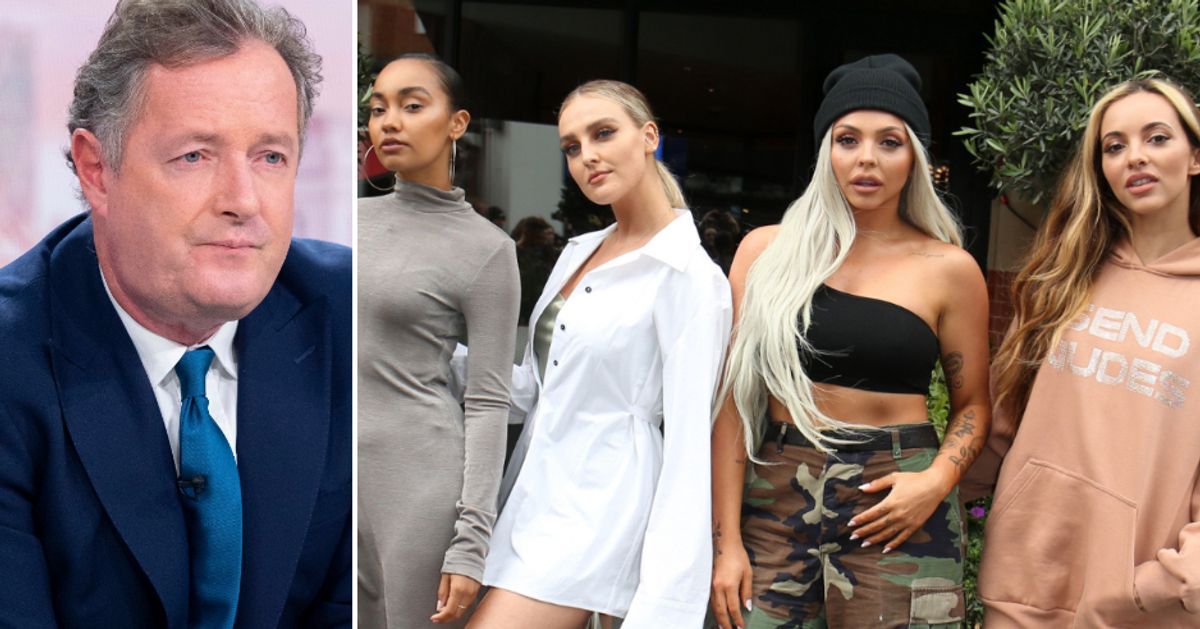 Little Mix Reignite Piers Morgan Feud Accusing Him Of Telling 'Porkie Pies' After Including Him In Current Tour
