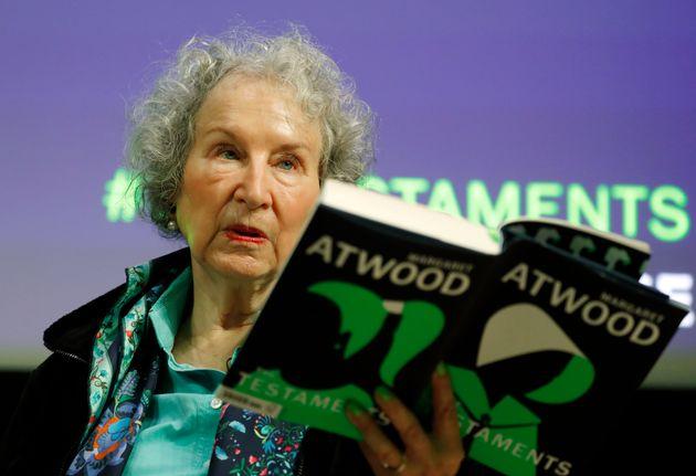 Margaret Atwood a présenté son livre à Londres le 10 septembre 2019. Cinq jours...