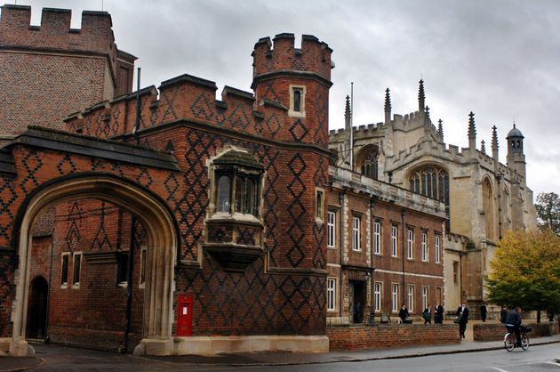 Eton College, one of the most prominent private schools in the