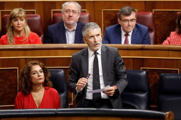 El ministro del Interior en funciones, Fernando