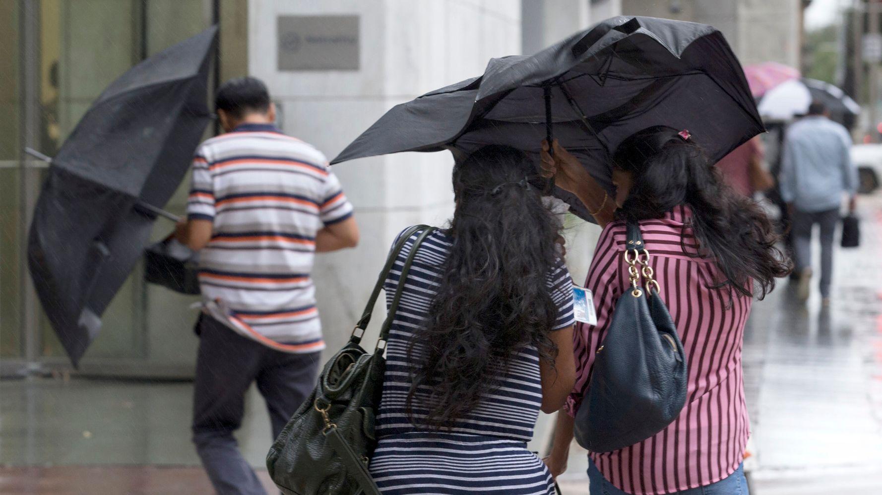 Tropical Storm Imelda Threatens Houston Area With Heavy Rainfall, Flooding
