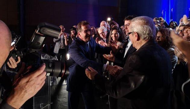 Au Québec, le Bloc québécois a devancé les conservateurs dans les intentions...