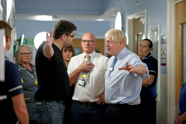 Boris Johnson Confronted By Angry Parent In Hospital For Destroying NHS