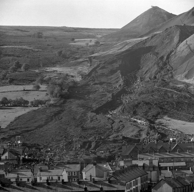 144 people died in 1966 when a landslide buried parts of the coal town of