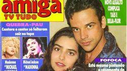 Casamento de Xuxa e Faustão? Esta capa prova que os anos 90 não eram para