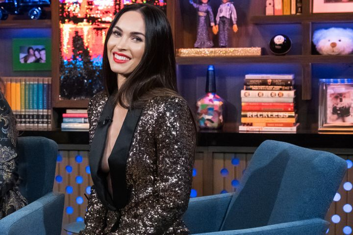"Megan Fox during an appearance on ""Watch What Happens Live With Andy Cohen."""