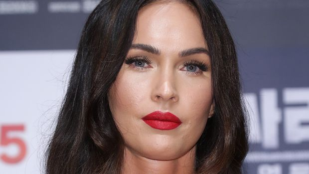 SEOUL, SOUTH KOREA - AUGUST 21: Actress Megan Fox attends the press conference for 'Battle Of Jangsari' on August 21, 2019 in Seoul, South Korea. The film will open on September 25 in South Korea.  (Photo by Han Myung-Gu/WireImage)