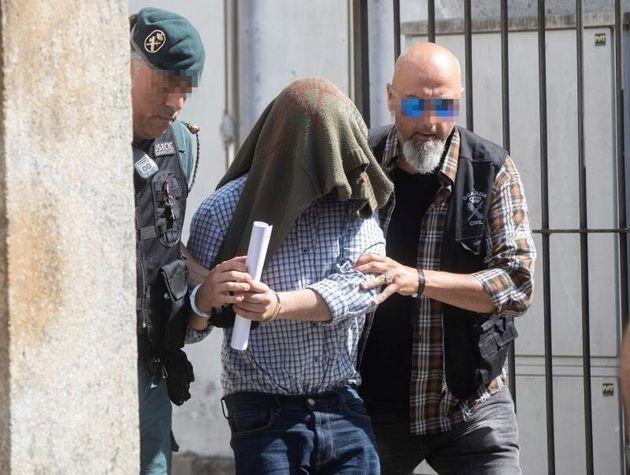 El autor confeso del triple crimen machista de Valga (Pontevedra) José Luis Abet Lafuente sale...