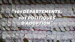 L'adoption n'est pas la même dans tous les départements et c'est un vrai