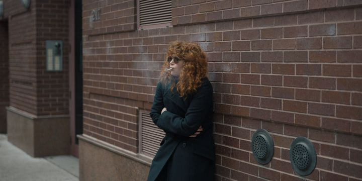 "Natasha Lyonne stressing out in ""Russian Doll."""