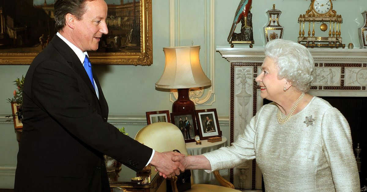 David Cameron Asked Queen To Help Ensure Scotland Rejected Independence