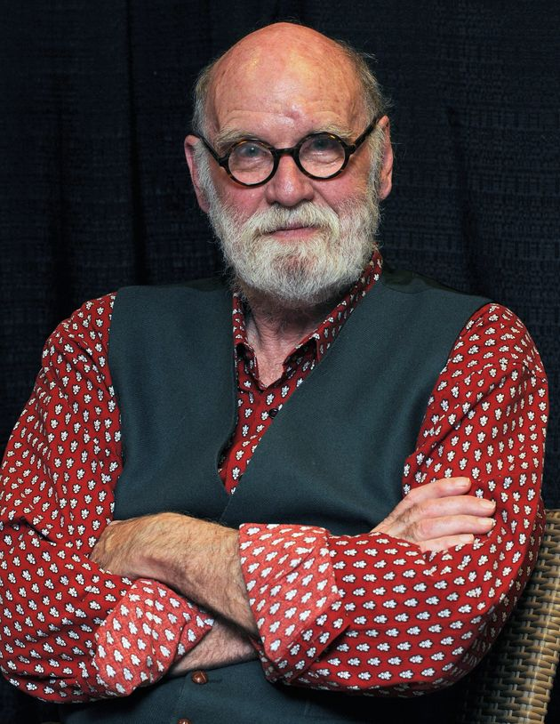 Graeme Gibson during a promotional event for his book