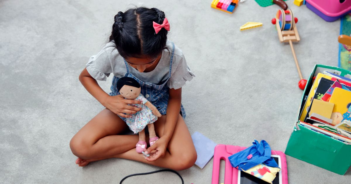 Grandfather Crochets Dolls With Vitiligo To Promote Kids' Self-Esteem