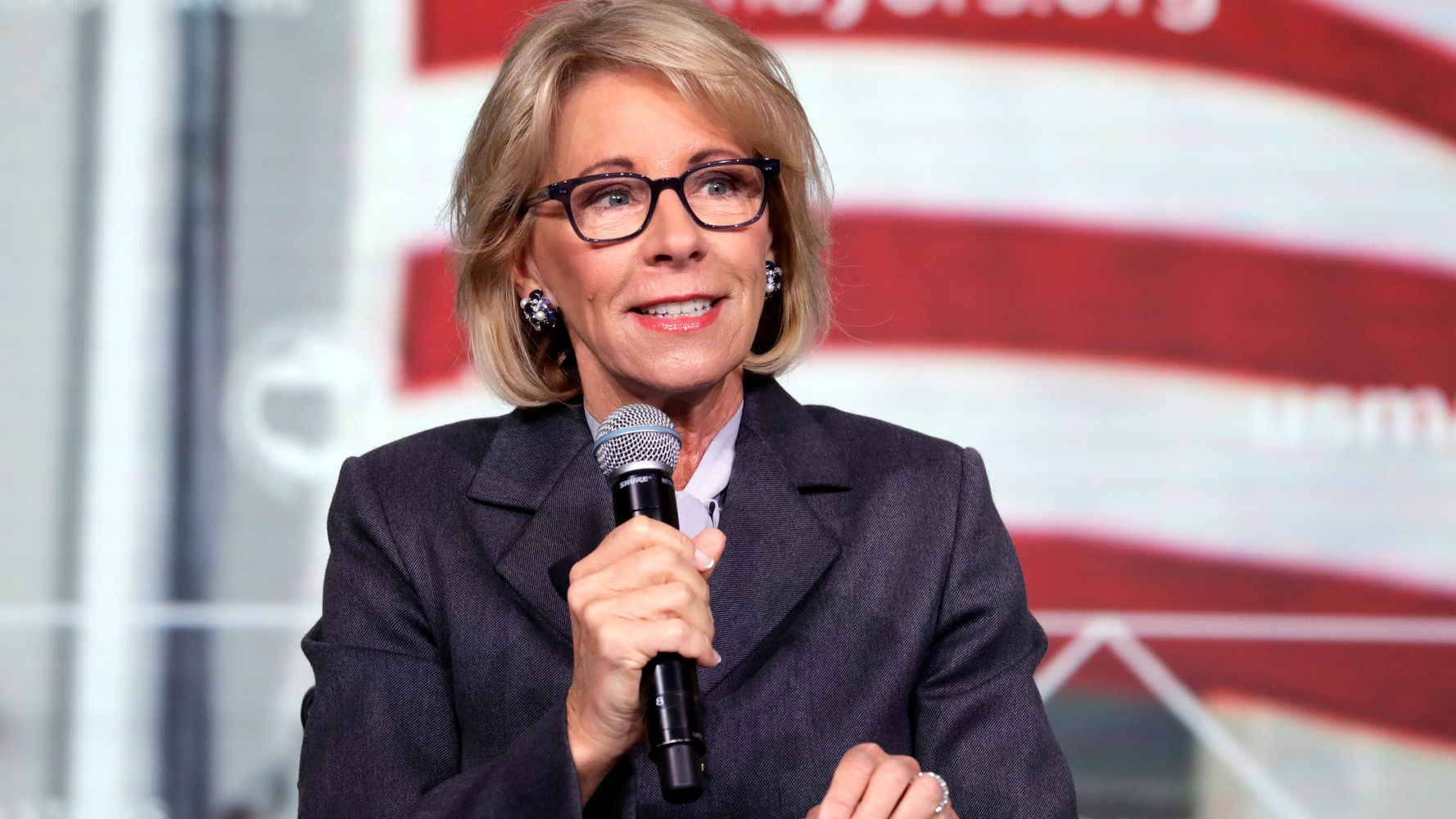Betsy DeVos To Promote School That Bans Transgender Students And ...