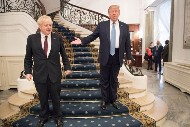 Donald Trump And Boris Johnson Discuss Need For Diplomatic Response To Saudi Oil Attack