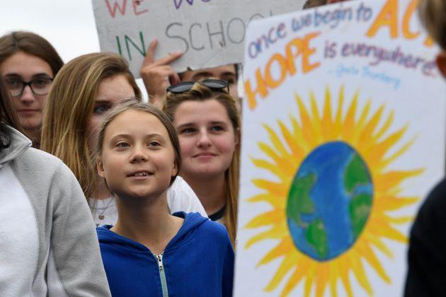La jeune militante suédoise Greta Thunberg sera de passage à Montréal le vendredi...