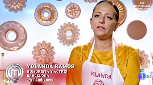 La frase de Yolanda Ramos en 'MasterChef' que ya es historia de España