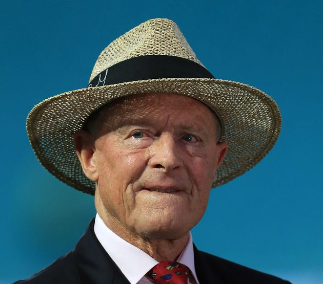 Geoffrey Boycott during day four of the fifth test match at The Kia Oval,