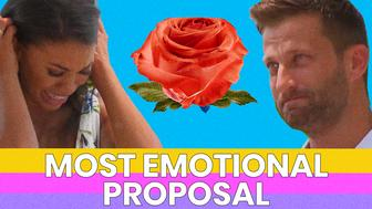 """HuffPost's """"Here To Make Friends"""" podcast recaps week seven of """"Bachelor In Paradise."""" Katie Morton and Chris Bukowski win least most emotional proposal."""