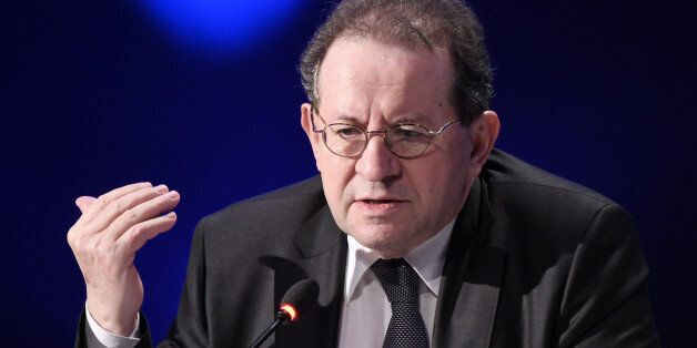 Vitor Constancio, vice president of the European Central Bank (ECB), speaks during the Group of Thirty...
