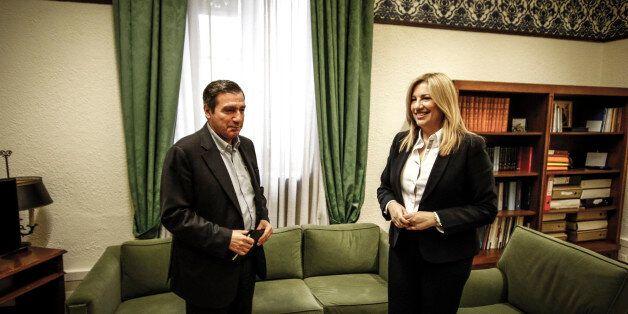 Συνάντηση Γεννηματά με Καμίνη: «Είναι σημαντικό να λαμβάνονται οι αποφάσεις