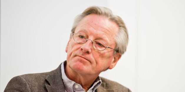 Frankfurt, Germany - October 17: Author Peter Brandt attends a panel discussion at Frankfurt Book Fair...