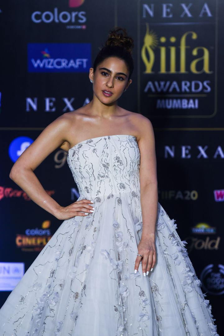 Sara Ali Khan won best female debut at the IIFA awards for <i>Kedarnath</i>.