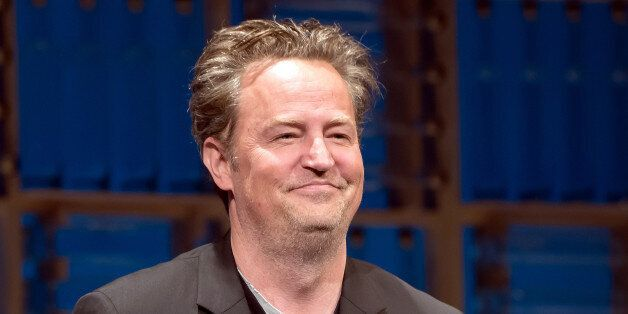 NEW YORK, NY - JUNE 05: Matthew Perry is seen on stage during the opening night curtain call of 'The...