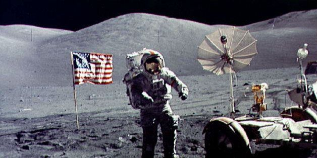 - FILE PHOTO DECEMBER 1972 - Twenty-five years ago tomorrow, on December 19, 1972, humans returned from...