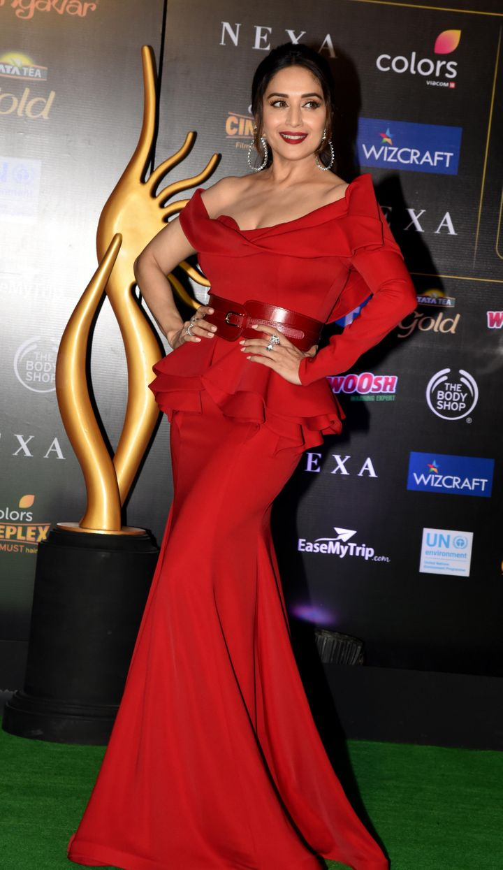 Madhuri Dixit at IIFA Awards.