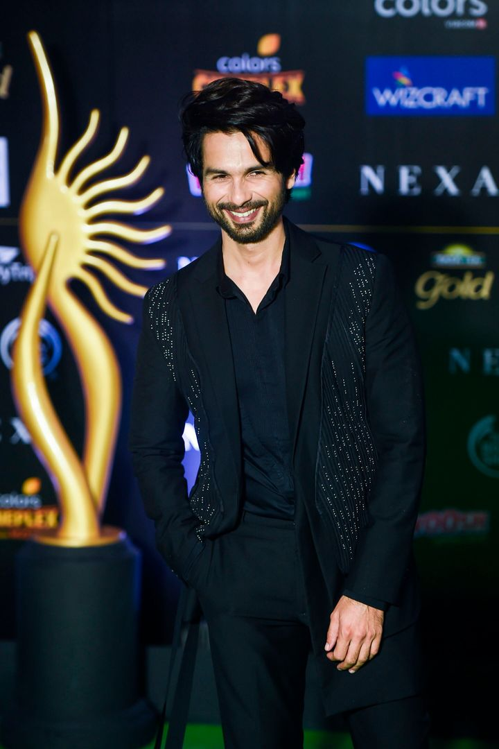 Shahid Kapoor at IIFA.