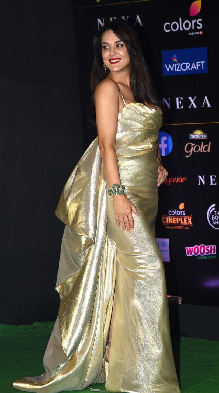 Preity Zinta at IIFA
