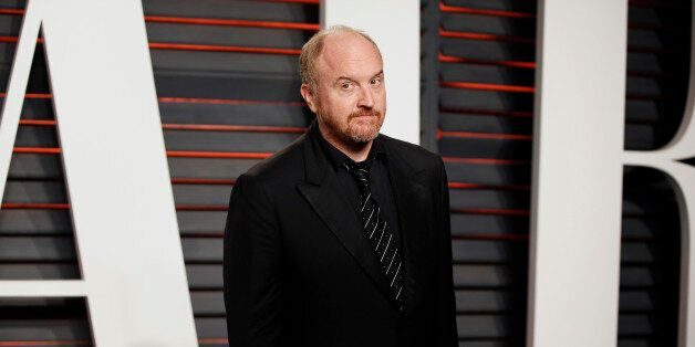 Comedian Louis C.K. arrives at the Vanity Fair Oscar Party in Beverly Hills, California February 28, 2016.  REUTERS/Danny Moloshok