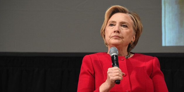 NEW YORK, NY - NOVEMBER 01: Hillary Clinton speaks onstage during The Streicker Center hosts a Special...